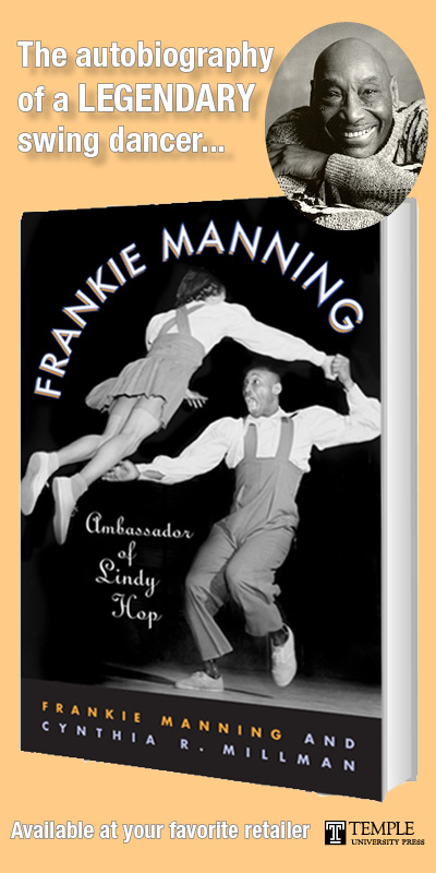 Every Lindy Hopper should own a copy of Frankie's book!